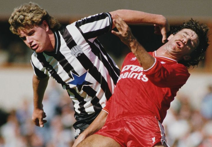 Paul Gascoigne, Gazza, Newcastle United,