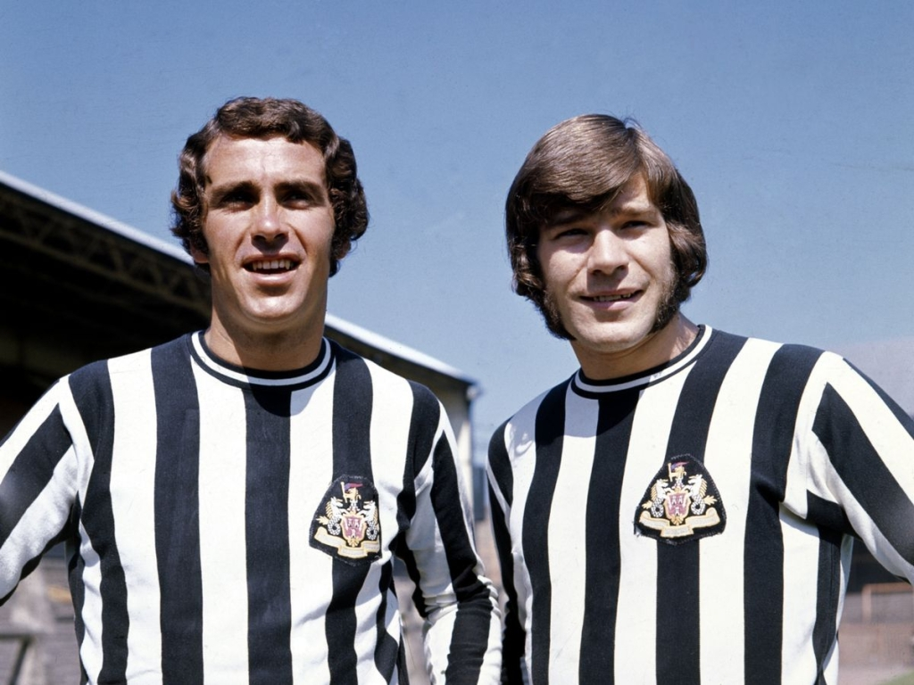 Newcastle United, Home kit, Malcom Macdonald, 1970
