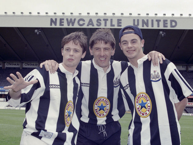 Newcastle United, 1995 Home kit, Adidas, Newcastle Brown Ale